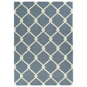 Spaces Grey Rectangular: 2 Ft. x 3 Ft. Rug