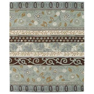 Taj Mint TAJ01 Rectangular: 5 Ft. x 7 Ft. 9 In. Rug