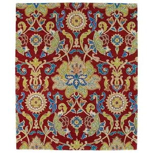 Taj Red TAJ02 Rectangular: 5 Ft. x 7 Ft. 9 In. Rug