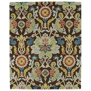 Taj Chocolate TAJ02 Rectangular: 5 Ft. x 7 Ft. 9 In. Rug