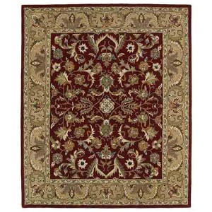 Taj Red TAJ04 Rectangular: 5 Ft. x 7 Ft. 9 In. Rug