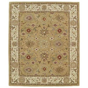 Taj Camel TAJ07 Rectangular: 5 Ft. x 7 Ft. 9 In. Rug