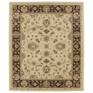 Taj Gold TAJ08 Rectangular: 5 Ft. x 7 Ft. 9 In. Rug