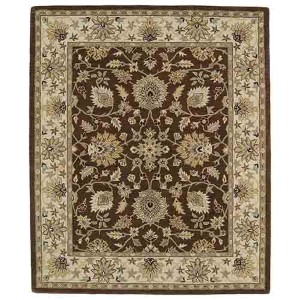 Taj Chocolate TAJ09 Rectangular: 5 Ft. x 7 Ft. 9 In. Rug