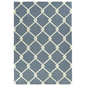 Trends Grey TRN01 Rectangular: 5 Ft. x 7 Ft. Rug