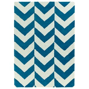Trends Turquoise TRN02 Rectangular: 5 Ft. x 7 Ft. Rug