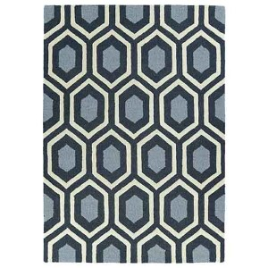Trends Charcoal TRN03 Rectangular: 5 Ft. x 7 Ft. Rug