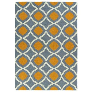 Trends Grey TRN04 Rectangular: 5 Ft. x 7 Ft. Rug