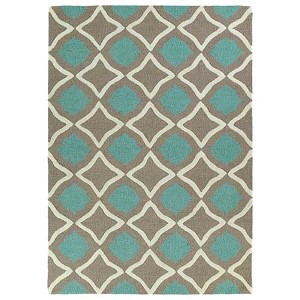 Trends Light Brown TRN04 Rectangular: 5 Ft. x 7 Ft. Rug