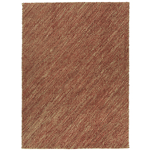 Tulum Rust Hand-Loomed 5Ft. x 7Ft. Rectangle Rug