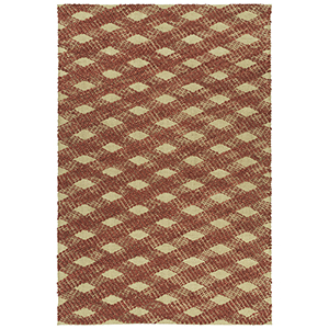 Tulum Rust Hand-Loomed 5Ft. x 7Ft. Rectangle Rug