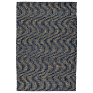 Textura Blue Rectangular: 2 Ft. x 3 Ft.