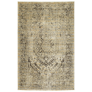Tiziano Gold Rectangular: 1 Ft. 10 In. x 3 Ft.
