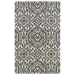 Evolution Grey Hand Tufted 9Ft. 9In Square Rug