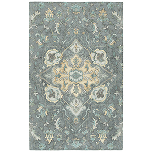 Zocalo Graphite Hand-Tufted 5Ft. x 7Ft. Rectangle Rug