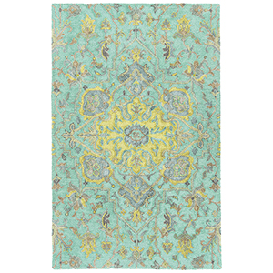 Zocalo Mint Hand-Tufted 5Ft. x 7Ft. Rectangle Rug
