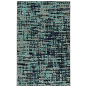 Zuma Beach Turquoise Machine Made 9Ft. 3In x 12Ft. Rectangle Rug