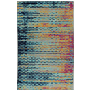 Zuma Beach Multicolor Machine Made 7Ft. 10In x 10Ft. Rectangle Rug