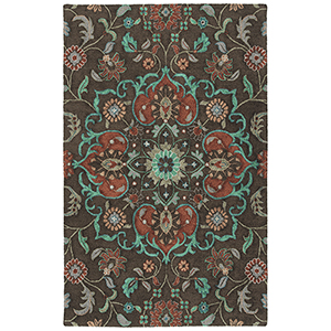 Zocalo Chocolate Hand-Tufted 2Ft. x 3Ft. Rectangle Rug