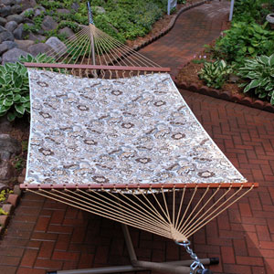 Double Quilted Reversible Zoe Stone Hammock