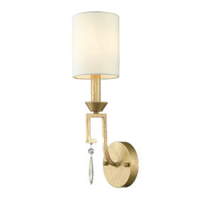 Lemuria Distressed Gold One-Light Wall Sconce