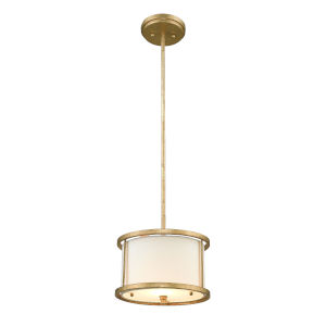 Lemuria Distressed Gold One-Light Pendant