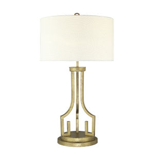 Lemuria Distressed Gold One-Light Table Lamp
