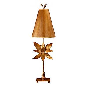 Azalea Gold Leaf One-Light Table Lamp