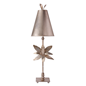 Azalea Silver Leaf One-Light Table Lamp