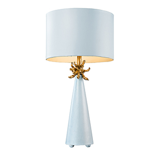 Neo Blue One-Light Table Lamp