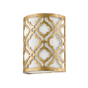 Arabella Distressed Gold One-Light Wall Sconce