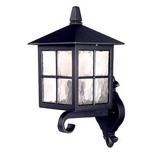 Winchester Black 15-Inch One-Light Outdoor Wall Sconce