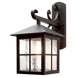 Winchester Black 16-Inch One-Light Outdoor Wall Sconce