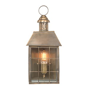 Minka Lavery Edenshire English Brass Four Light Outdoor
