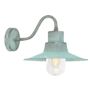 Sheldon Verdigris One-Light Outdoor Wall Sconce