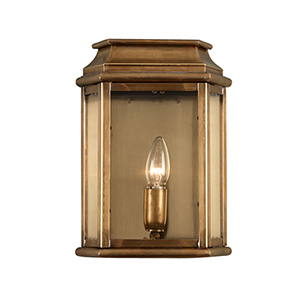 St Martins Aged Brass One-Light Outdoor Wall Sconce