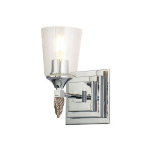 Vetiver Polished Chrome One-Light Wall Sconce