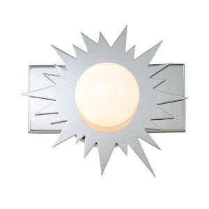 Soleil Polished Chrome One-Light LED Wall Sconce