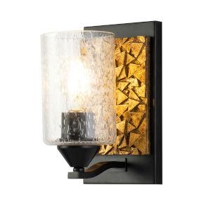 Bocage Matte Black Bronze One-Light Wall Sconce