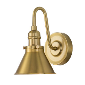 Provence Antique Brass One-Light Bath Vanity