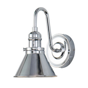Provence Polished Chrome One-Light Bath Vanity