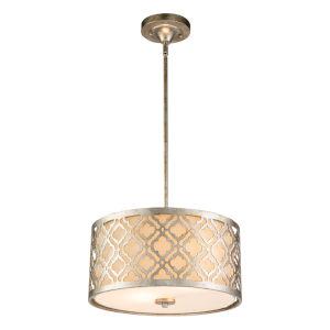 Arabella Antique Silver Two-Light Pendant