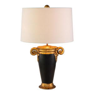 Gallier Black and Gold One-Light Table Lamp