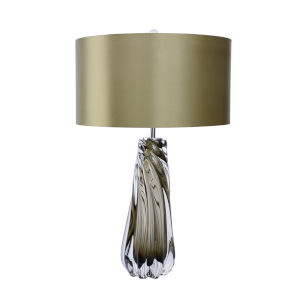 Dalrymple Clear Olive Green One-Light Table Lamp