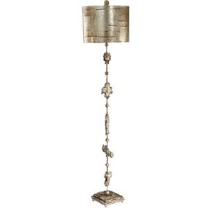 Fragment Silver Leaf One-Light Floor Lamp
