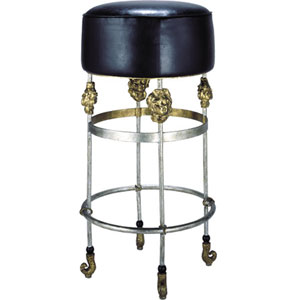 Armory Gold Leaf Bar Stool