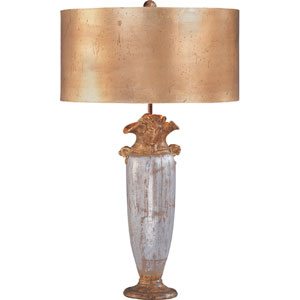 Bienville Silver and Gold Table Lamp