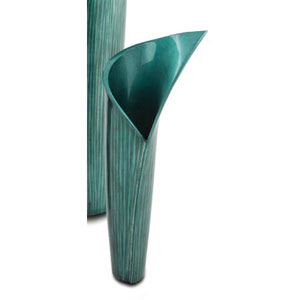 Blue Grey Calla Vase, Small Only