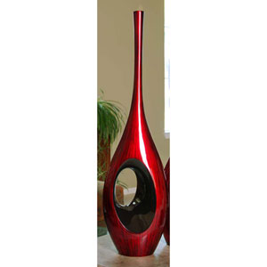 Dark Plum Hole Vase, Large Only