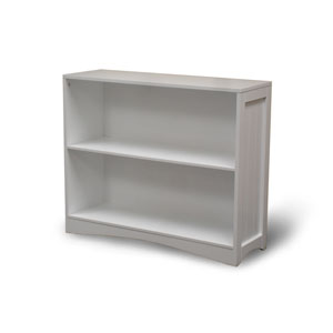 White Horizontal Bookcase
